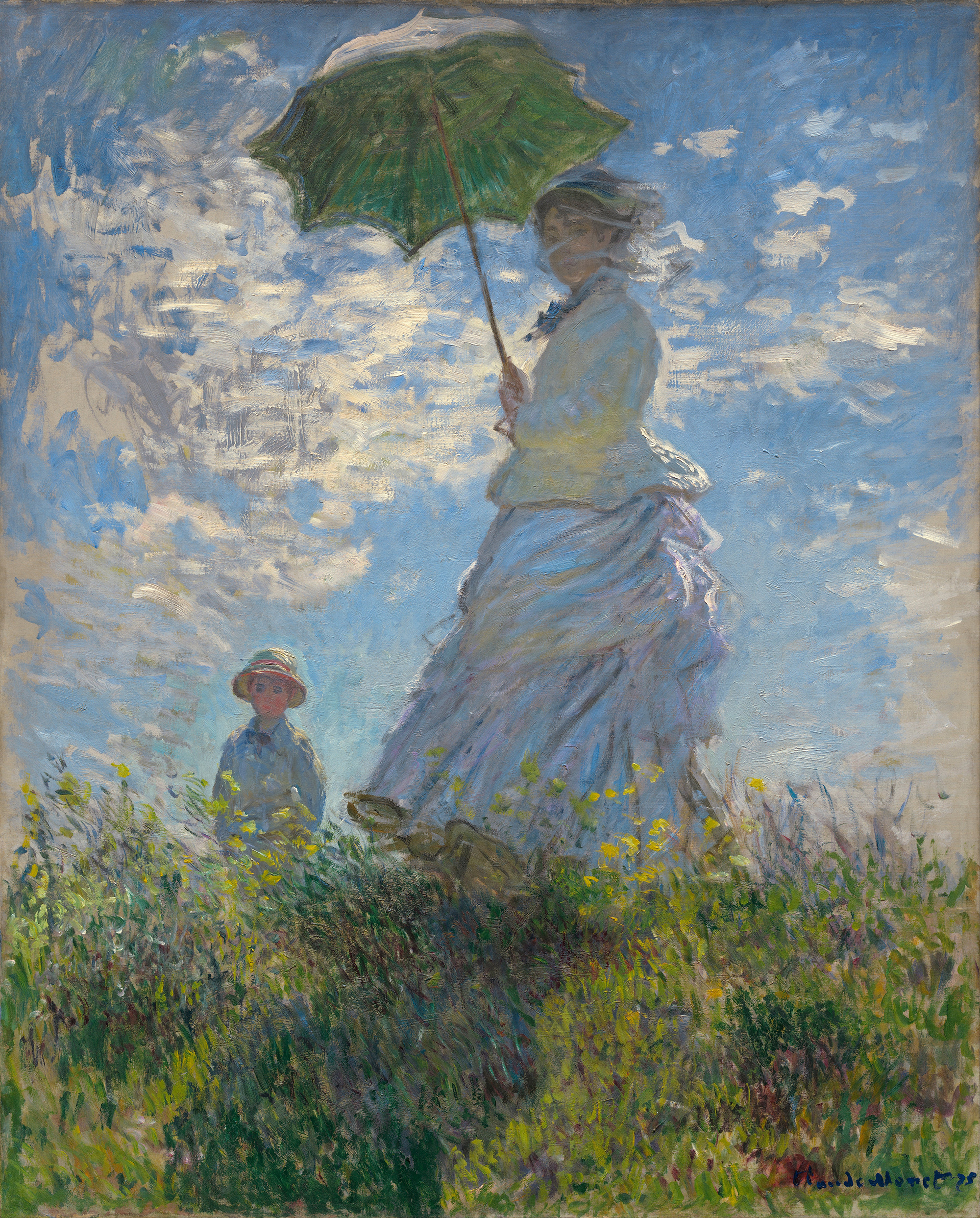 Claude_Monet_-_Woman_with_a_Parasol_-_Madame_Monet_and_Her_Son_-small