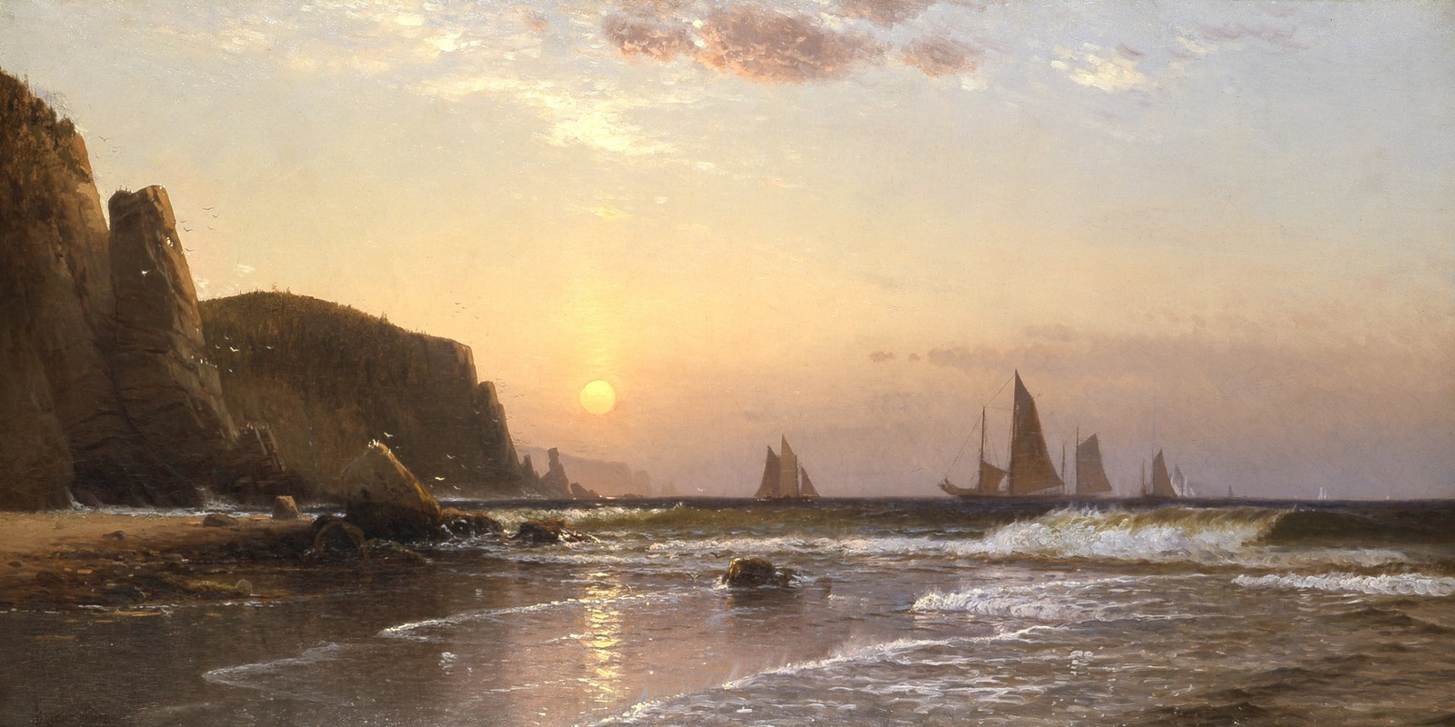 Morning_at_Grand_Manan_by_Alfred_Thompson_Bricher