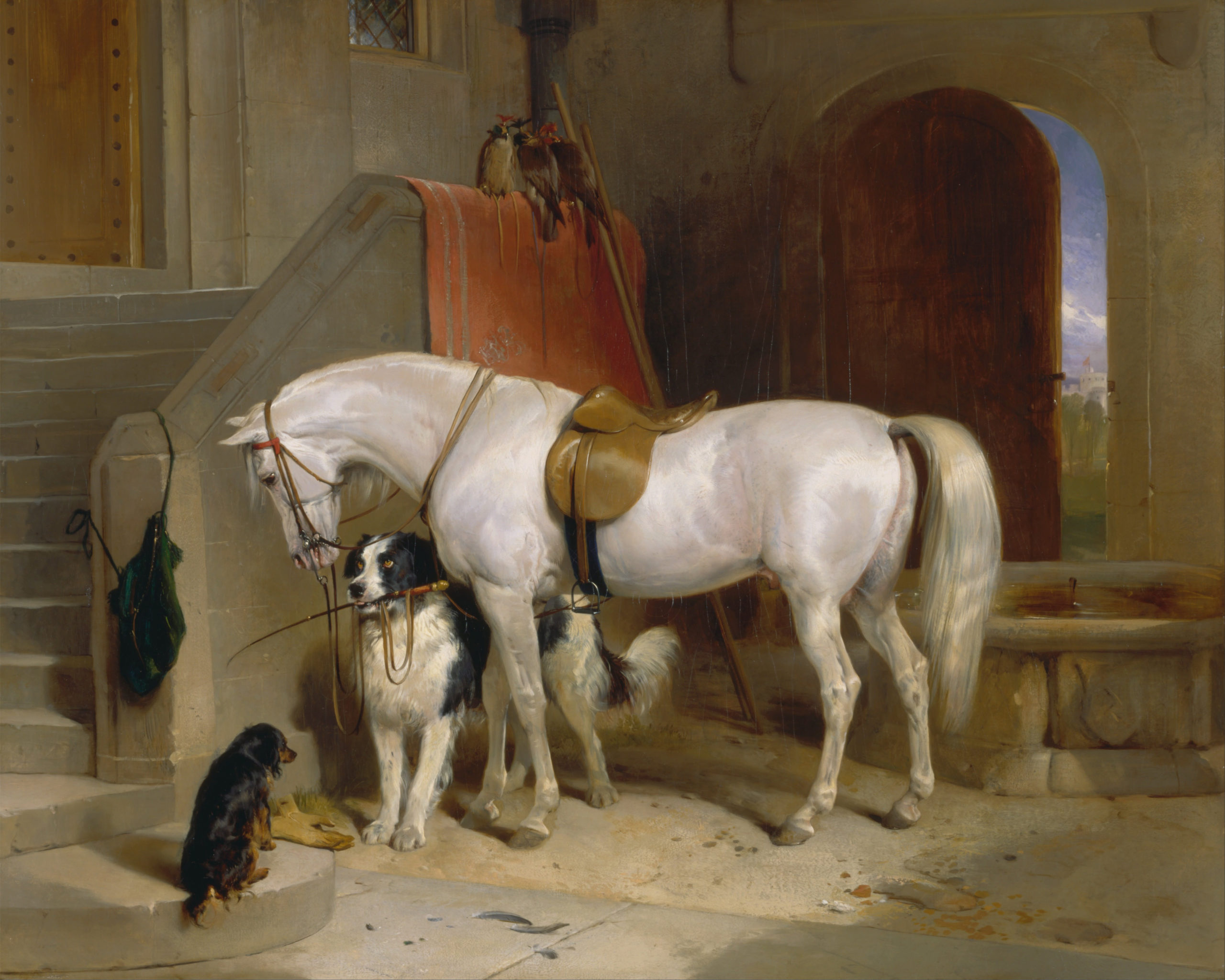 Sir_Edwin_Henry_Landseer_-_Favourites,_the_Property_of_H.R.H._Prince_George_of_Cambridge_-_Google_Art_Project